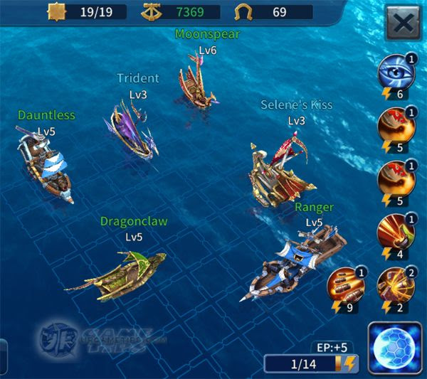 Sailcraft Online Lvl 9 Battle Fleet