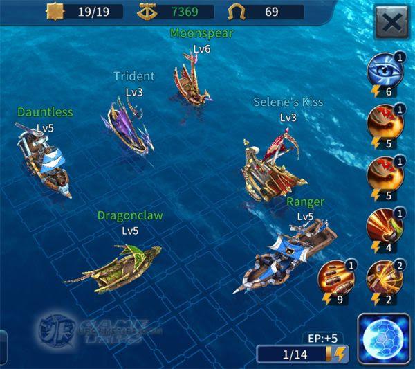 Sailcraft Online Lvl 9 Battle Fleet