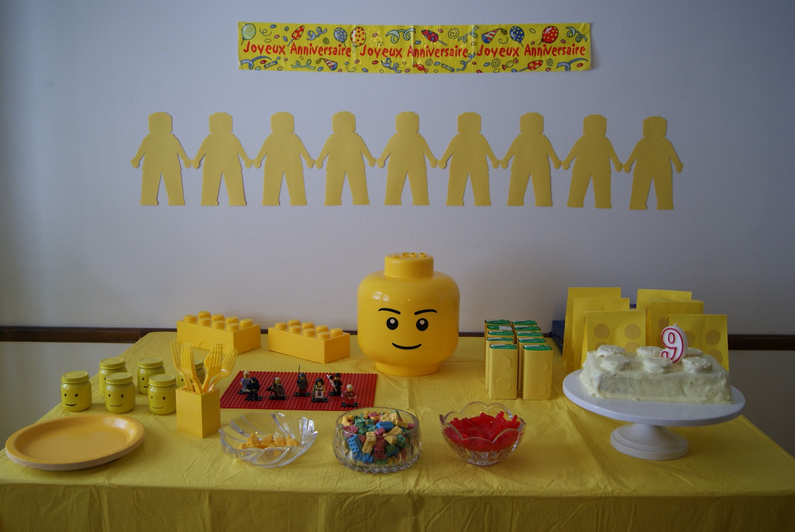 Nest Full Of Eggs Yellow Lego Birthday