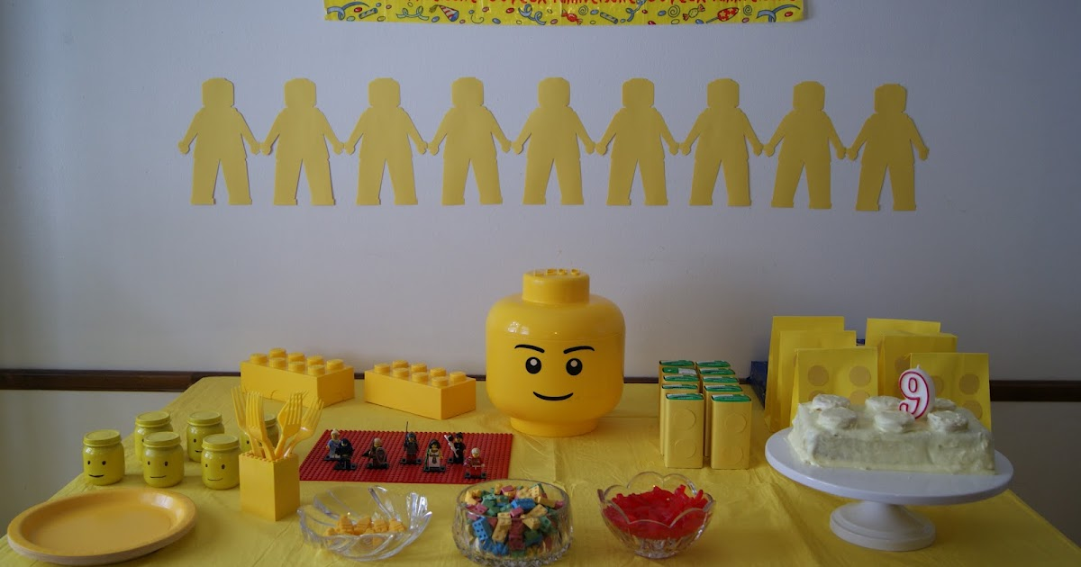 Nest Full Of Eggs Yellow Lego Birthday