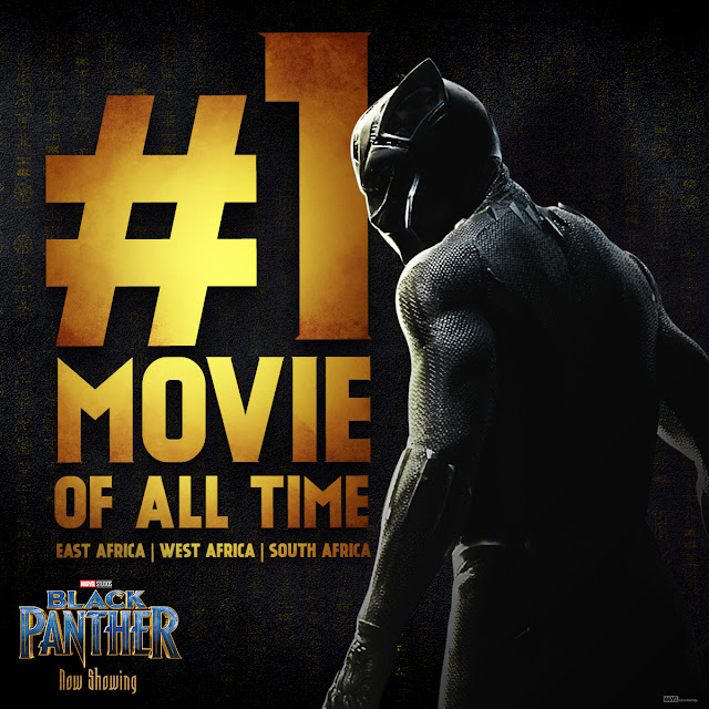 #Marvel Studios #BlackPanther is The Highest Grossing Film in East, West and now, South Africa #DisneyAfrica