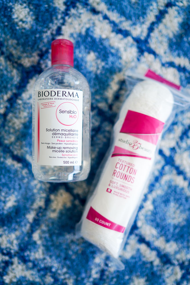 Bioderma Sensibio H20, makeup remover, skincare, beauty blog
