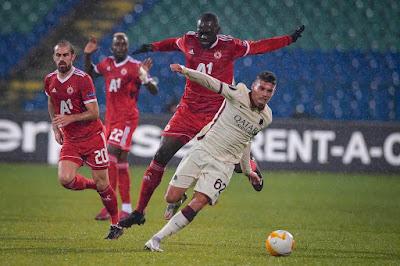 ملخص واهداف مباراة روما وسسكا صوفيا (1-3) الدوري الاوروبي