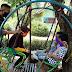 Moment Kebersamaan Satgas TMMD Reg-109 dan Anak Jatiwarno