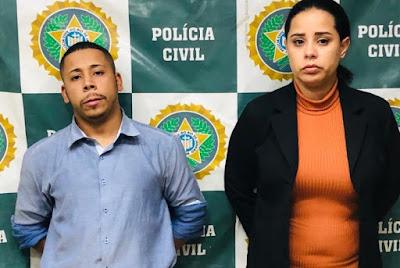 Jonathan Ferreira Barbosa e Flávia Rubio Francisco miravam policiais civis, militares e bombeiros, muitas vezes em seus locais de trabalho