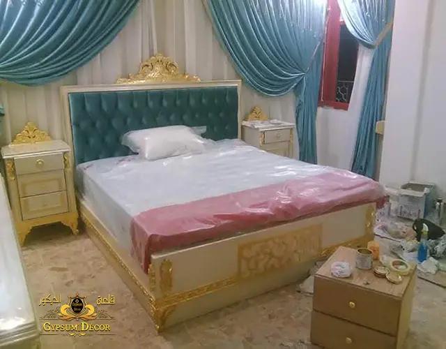 غرف نوم كامله بالتسريحة