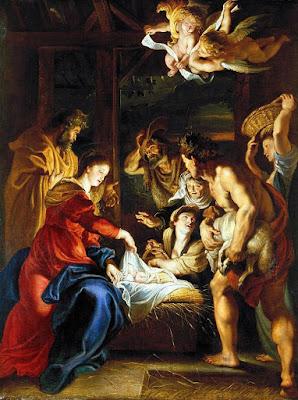 Imagem do Nascimento de Jesus Cristo, pintura, #1