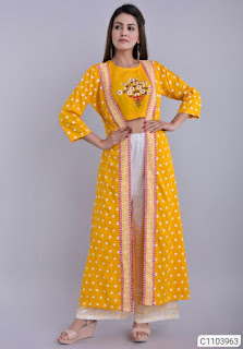 Gorgeous Rayon Embroidered Kurti Sets