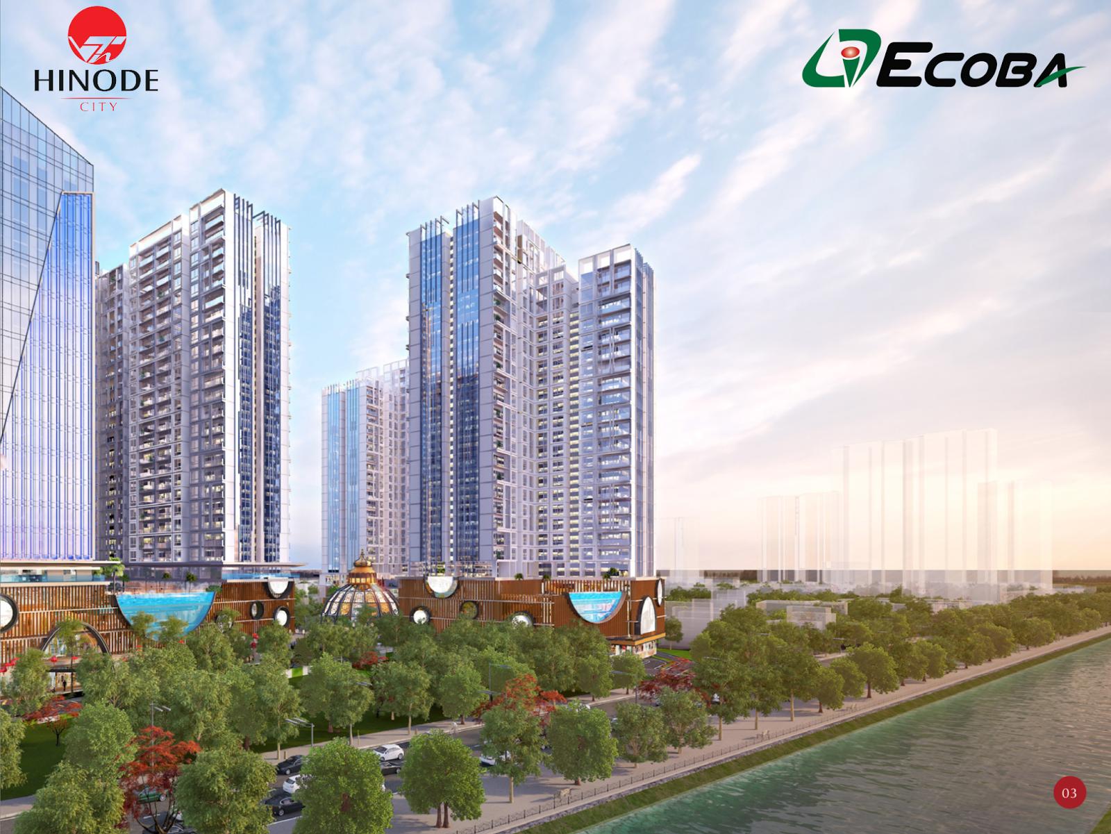 Ecoba đơn vị thi công của dự án Hinode City Minh Khai