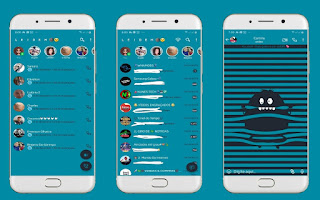 Monster 2 Theme For YOWhatsApp & Fouad WhatsApp By Leidiane