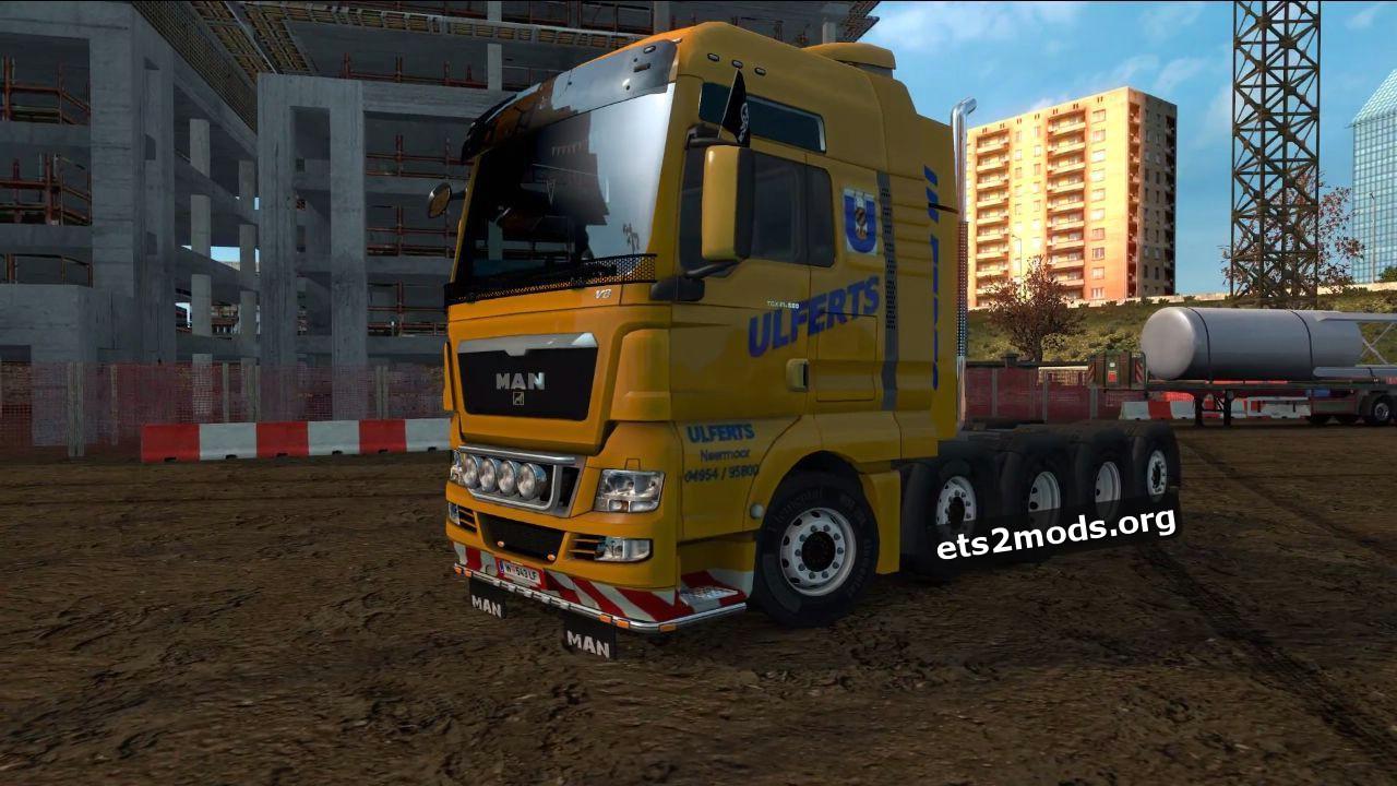 Truck - MAN TGX 8×4 10×4 V 8.0