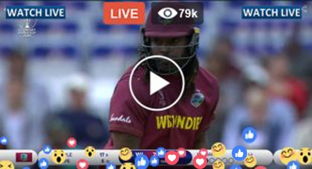Afghanistan vs West Indies Live Match Today WI vs AFG ICC CWC 2019