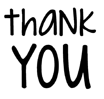free thank you card sentiment