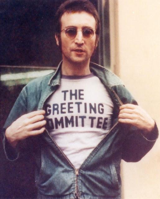 John Lennon The Greeting Committee shirt.  PYGear.com