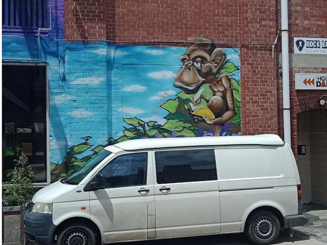 Hobart Street Art   Rock it Climbing Centre