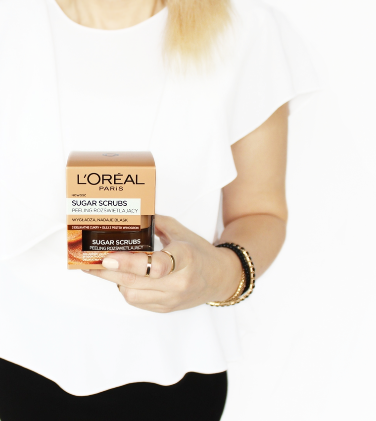 L`Oreal Paris Smooth Sugar Glow Scrub Peeling do twarzy