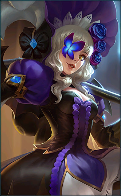 Ruby Hidden Orchid Butterfly Heroes Fighter of Skins