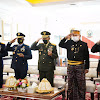 Pangkoopsau II Ikuti Upacara Peringatan Lahirnya Panca Sila Secata Virtual