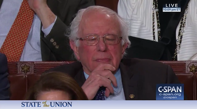 State of the Union 2019 Bernie Sanders America must never become a socialist country