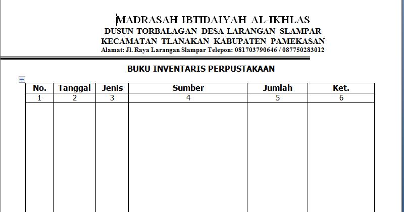 Contoh Formulir Ekstrakurikuler Police 11166
