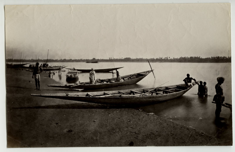 Indian Fishing Boats - c1880's