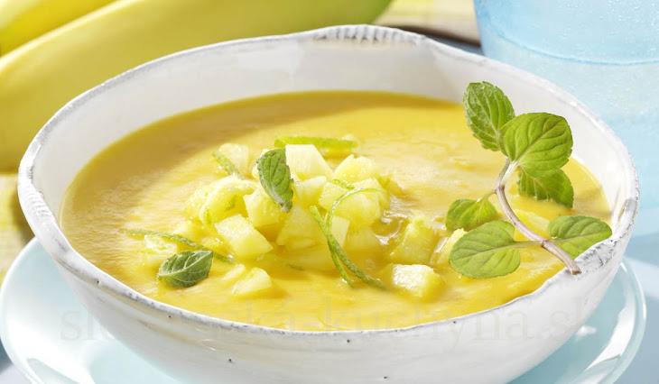 Ananásová polievka
