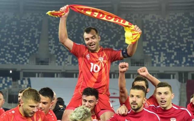 """Σκόπια: Ως """"Μακεδονία"""" συμμετέχουν στο Euro - Αρνούνται την αλλαγή ονόματος στις φανέλες"""