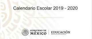Calendario Escolar oficial 2019-2020 190 días