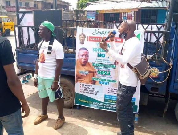 Sunday Igboho Set For Massive Yoruba Nation Rally In Lagos