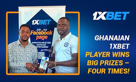 1xBet Presents James Wood - one of the Luckiest Members who Won Prizes at 4 Different Promotions