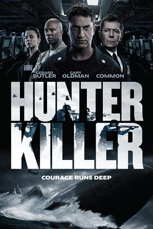 Hunter Killer (2018) 400MB Full Hindi Dual Audio Movie Download 480p Bluray