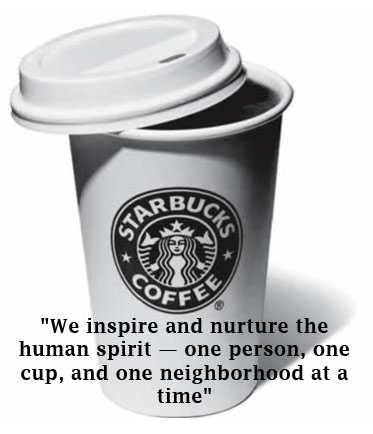 Starbucks blue ocean strategy