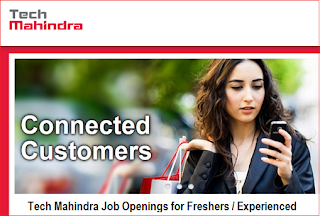 WalkIn Interview @ Tech Mahindra on