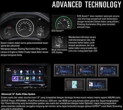 Fitur Advance HU Honda HR-V