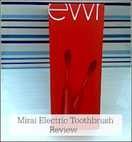 Mirai Toothbrush Packaging - Red