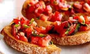 طريقه عمل بروسكيتا الطماطم