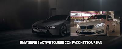 Pubblicità BMW Serie 2 Active Tourer Hybrid i8