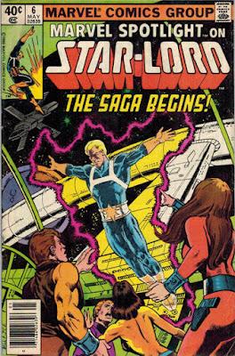 Marvel Spotlight #6, The Origin of Star-Lord