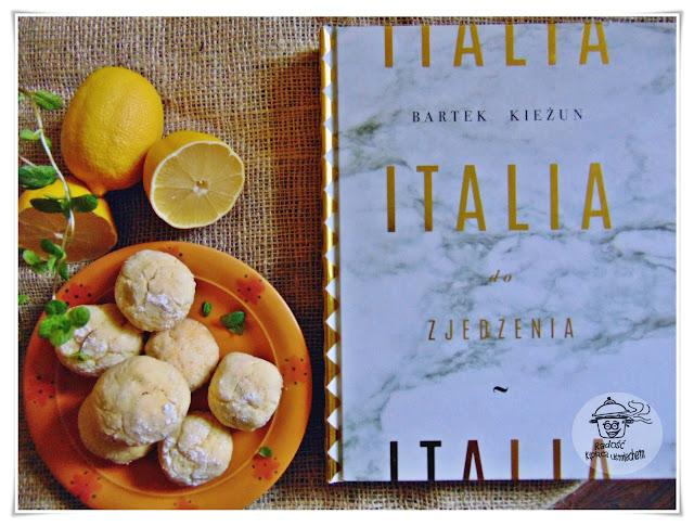 Włoskie ciasteczka cytrynowe inspirowane książką Italia do zjedzenia....