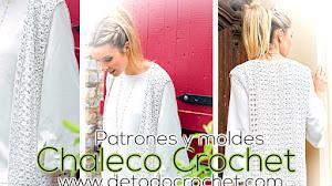 Chaleco Crochet para tejer en casa / Patrones