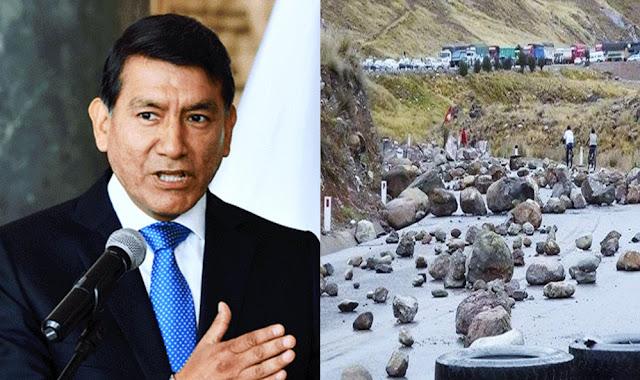 Carlos Morán: Estado de emergencia en Challhuahuacho se levantará si se desbloquean vías