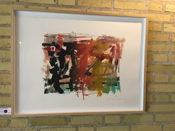 Maja Lisa Engelhardt, litografi