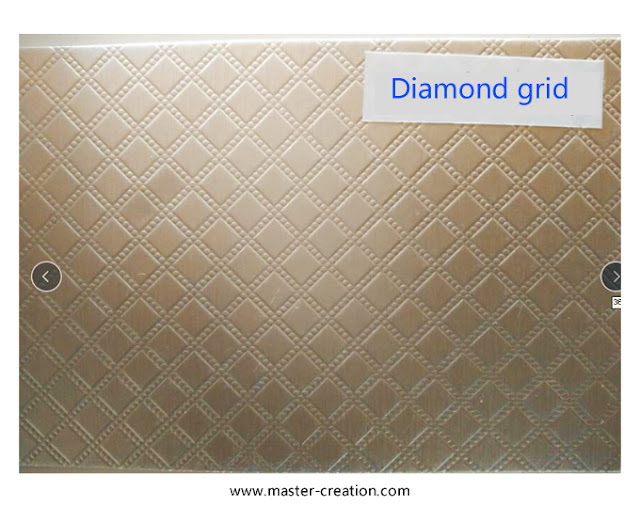 diamond grid textured paper