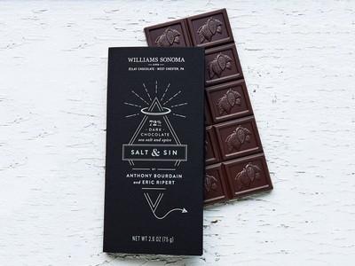 Anthony Bourdain Chocolate and Eric Ripert