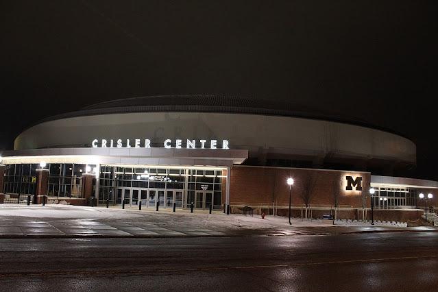 Crisler Arena University of Michigan