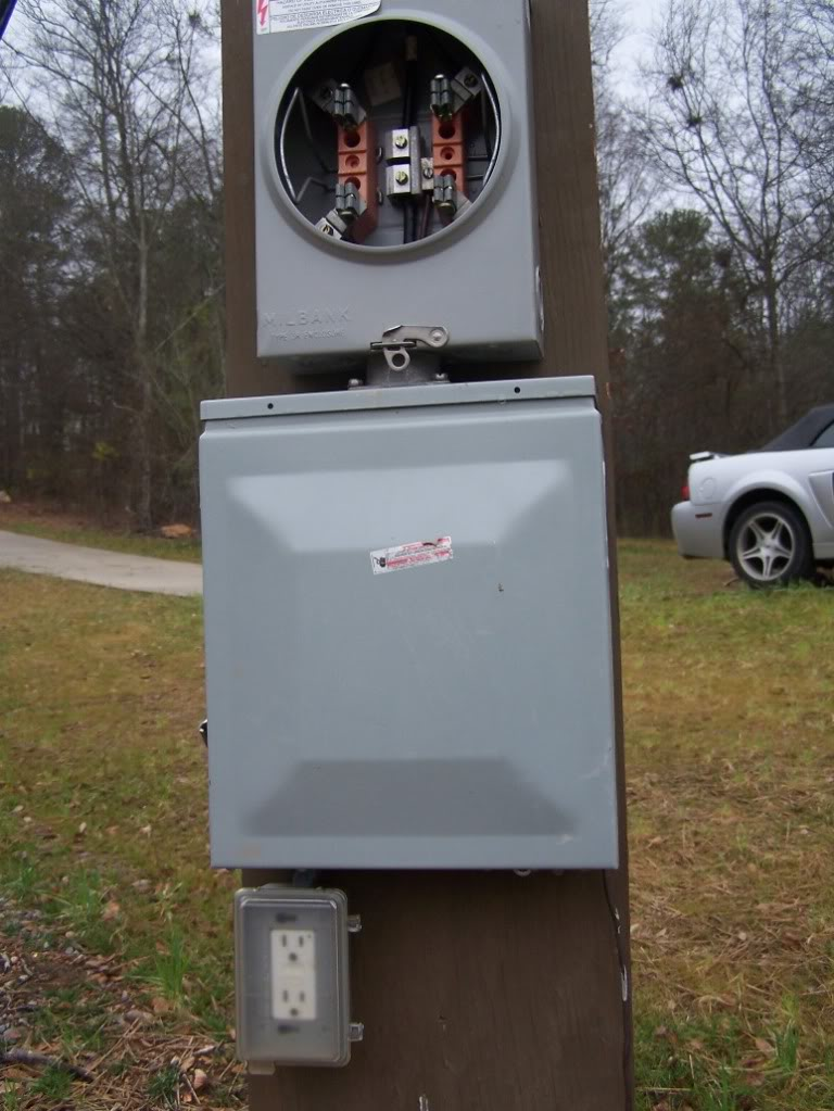 Remote Electrical Meter Service Permanent : Temporary service pole installation in mississauga