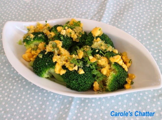 Broccoli Polonaise by Carole's Chatter