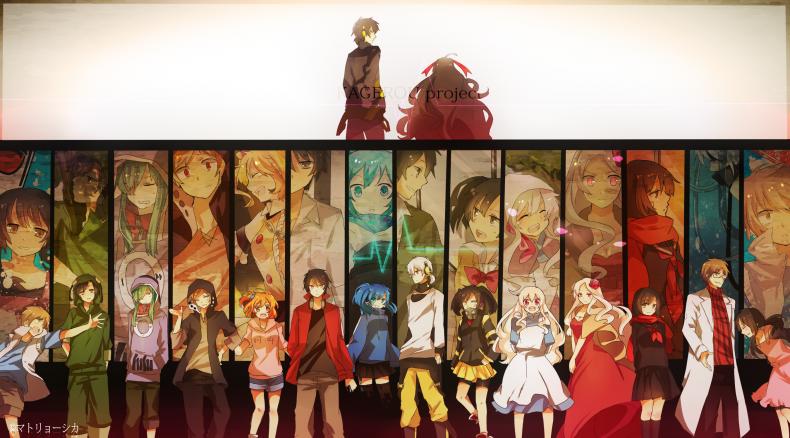 Anime Kamp Personajes Mekakucity Actors