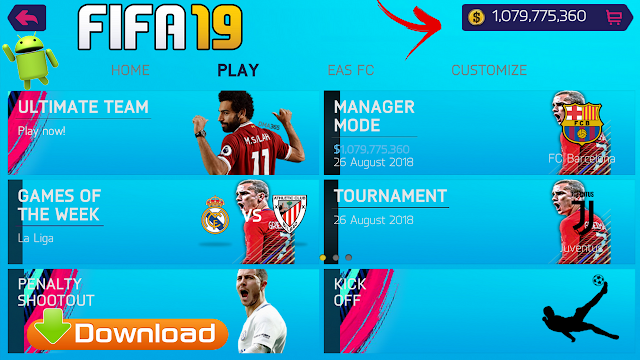 Download FIFA 19 Mod Money FIFA 14 Offline Android