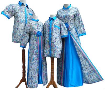 Long Dress Batik Modern